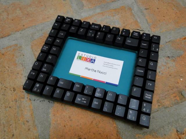 Reciclar teclado de computador!